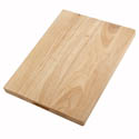 Winco Wood Cutting Board 12\x22 x 18\x22 x 1-3/4\x22