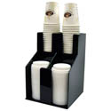 Winco 2-Tier 2-Stack Cup and Lid Organizer