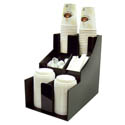 Winco 3-Tier 2-Stack Cup and Lid Organizer