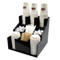 Winco 3-Tier 3-Stack Cup and Lid Organizer