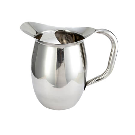 Winco 96 oz. Deluxe Bell Pitcher