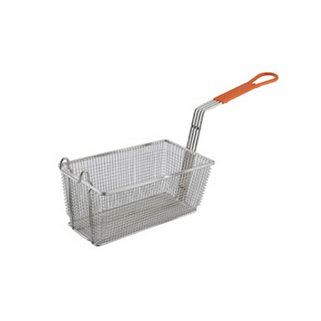 Fry Basket with Insulated Handle for Dean Fryers