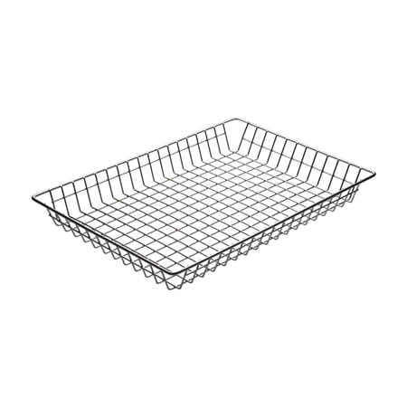 "Winco Wire Doughnut Basket 12"" X 18"" x 2"""