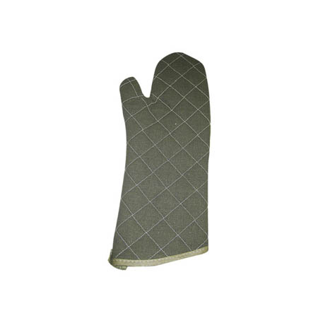 "13"" Quilted Flame Retardant Oven Mitt"