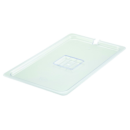 Slotted Cover for Winco Full Size Poly Food Pan