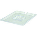 Slotted Cover for Winco 1/2-Size Poly Food Pan