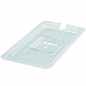 Slotted Cover for Winco 1/3-Size Poly Food Pan