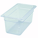 1/3-Size Clear Food Pan 12-4/5\x22L X 7\x22W X 6\x22H
