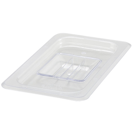Solid Cover for Winco 1/4-Size Poly Food Pan
