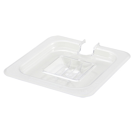 Slotted Cover for Winco 1/6-Size Poly Food Pan