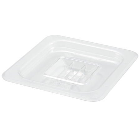 Solid Cover for Winco 1/6-Size Poly Food Pan