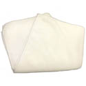 16\x22 x 16\x22 White Microfiber Cleaning Cloth 12-Pack