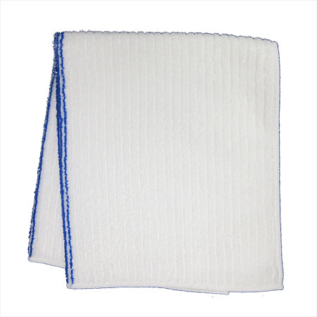 "15"" x 25"" Assorted Style Cotton Cleaning Cloth 3-Pack"