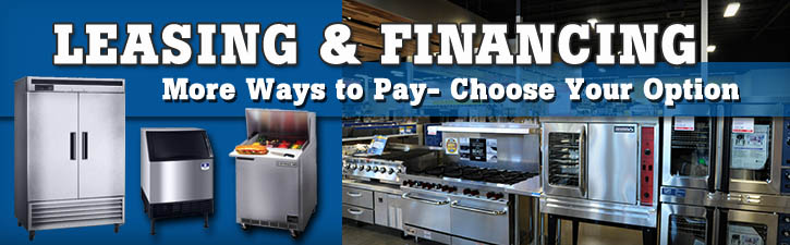 Lease And Finance Providers Restaurant Equippers