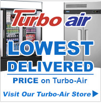 Lowest Delivered Price on Turbo-Air