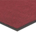 Apache Mills 4\' x 6\' Red Carpeted Floor Mat for Double Door Entrance