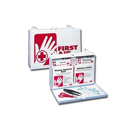 25-Person Emergency First Aid Kit with Steel Case