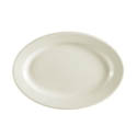 MCIC Chelsea 9-3/8\x22 American White Rolled Edge Platter