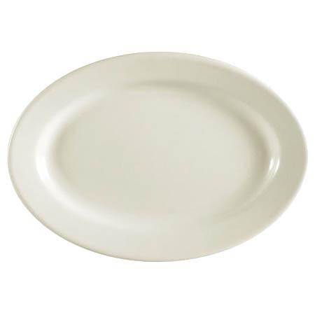 "MCIC Chelsea 15-1/2"" American Rolled Edge Platter"