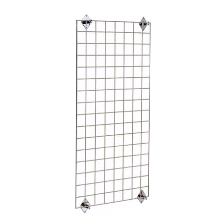 "Nexel Space Wall Shelving System Wire Grid Panel 48"" x 48"""