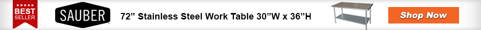 Best Selling Stainless Work Table
