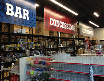 Restaurant Supply Bar and Concessions