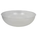Parade Plastics 15\x22 Clear Pebbled Bowl