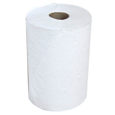 Hardwound White Paper Towels