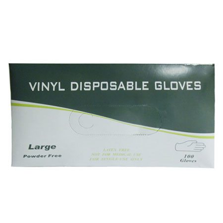 Large Powder Free Vinyl Disposable Food Service Gloves