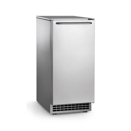 "Scotsman 65 lb. Undercounter Gourmet Cube Air Cooled Ice Machine with 26 lb. Bin 14-7/8""W"