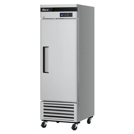 "Turbo-Air 19.3 cu. ft. 1-Door Bottom Mount Reach-In Freezer 27""W"