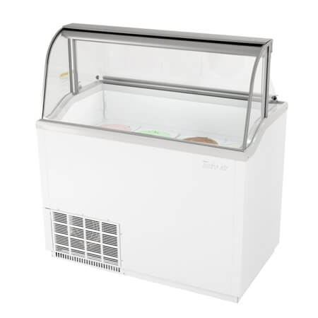 "Turbo-Air 12 Tub Ice Cream Dipping Cabinet 47""W"
