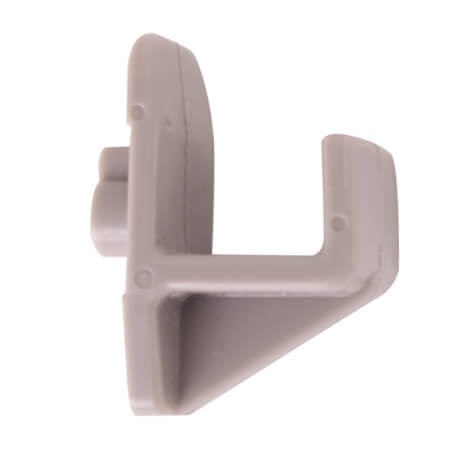 Shelf clip for use with Turbo Air Top Mount Reach-In Refrigerators and Freezers