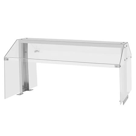 "Turbo-Air Sneeze Guard for use with Turbo-Air 11 cu. ft. Refrigerated Buffet Table 48""W"