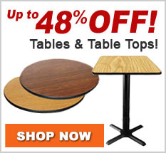 Tabletop Clearance
