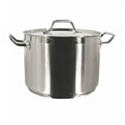 Thunder Group Stock Pots with Covers
