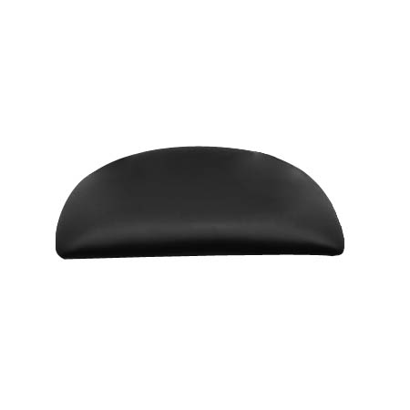 Black Vinyl Chair or Bar Stool Seat