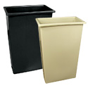 Slim Trash Containers
