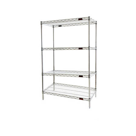 "Eagle Zinc-Coated Shelving Kit 24"" x 60"""