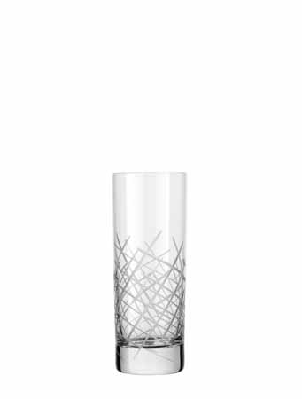 Libbey Master's Reserve Modernist Renewal 12 oz Crosshatch Beverage Glass